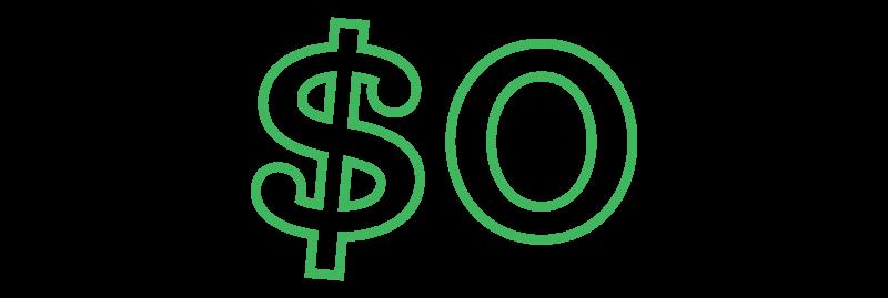 decorative element - zero dollars
