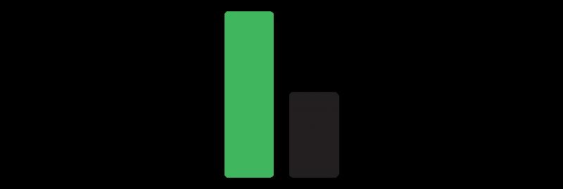 decorative element - bar chart